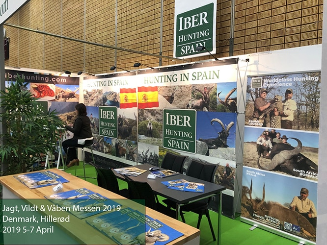 Jagt, Vildt & Vaben Messen 2019 Iberhunting Spain