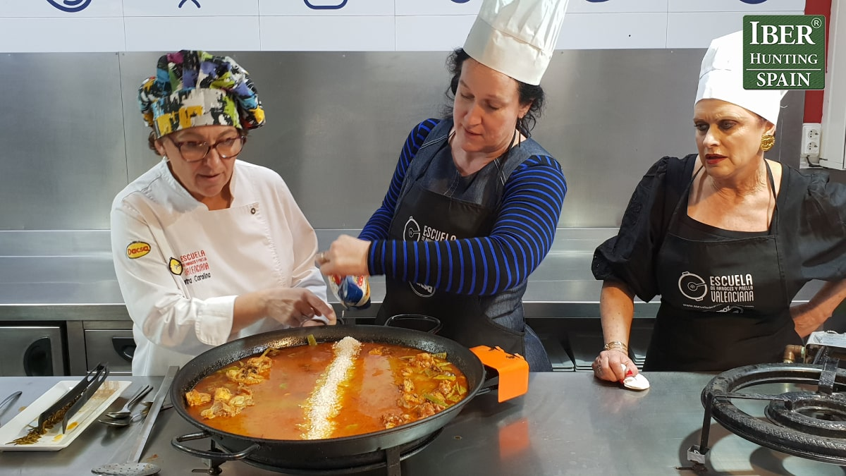 tourism for beceite ibex-Paella Cooking Class-Iberhunting Spain (3)