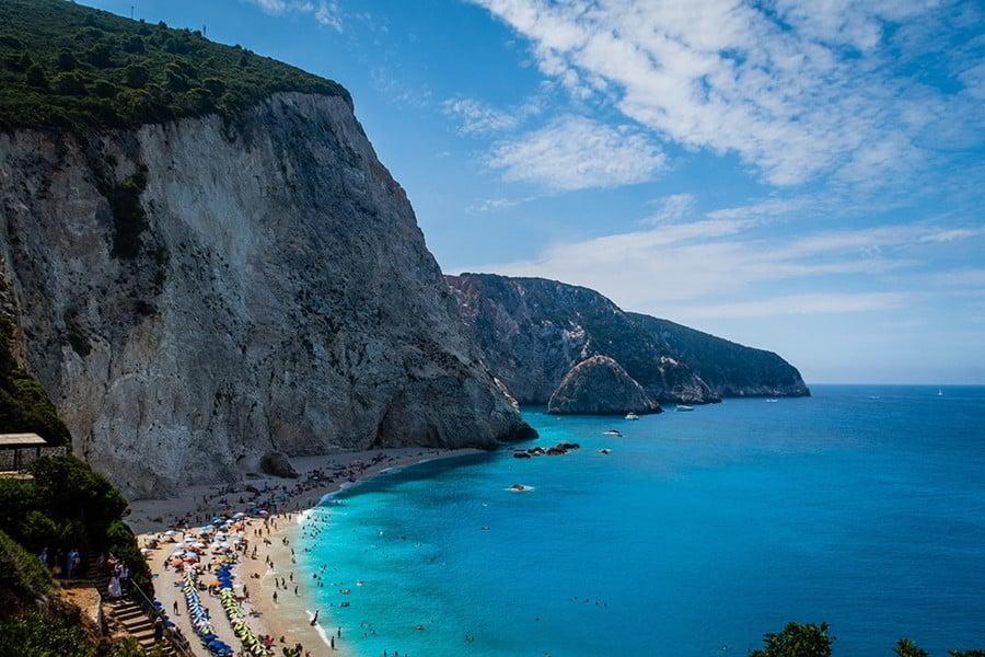 Hunt in Greece - landscape of Greece