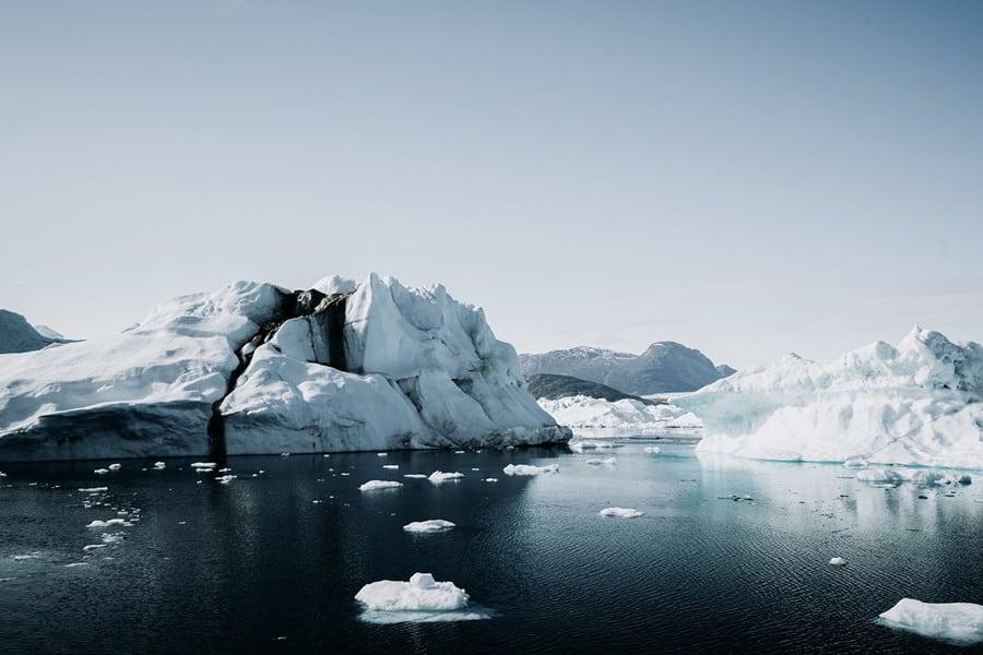 Hunt in Greenland - glaciar