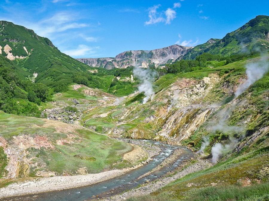Hunt in Kamchatka - Landscape of Kamchatka