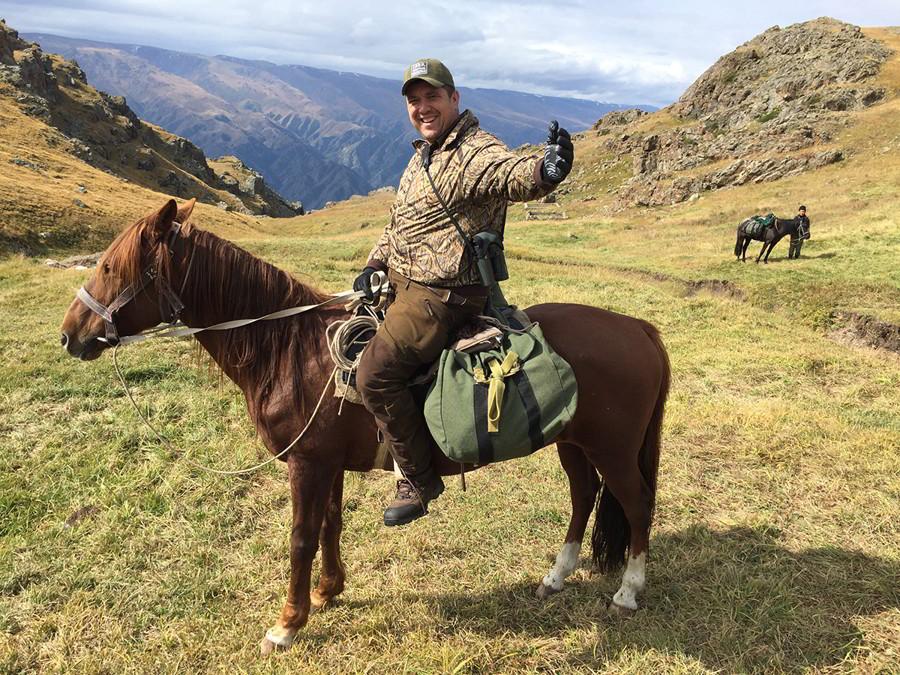 Hunt in Kazakhstan - Hunter on a horse