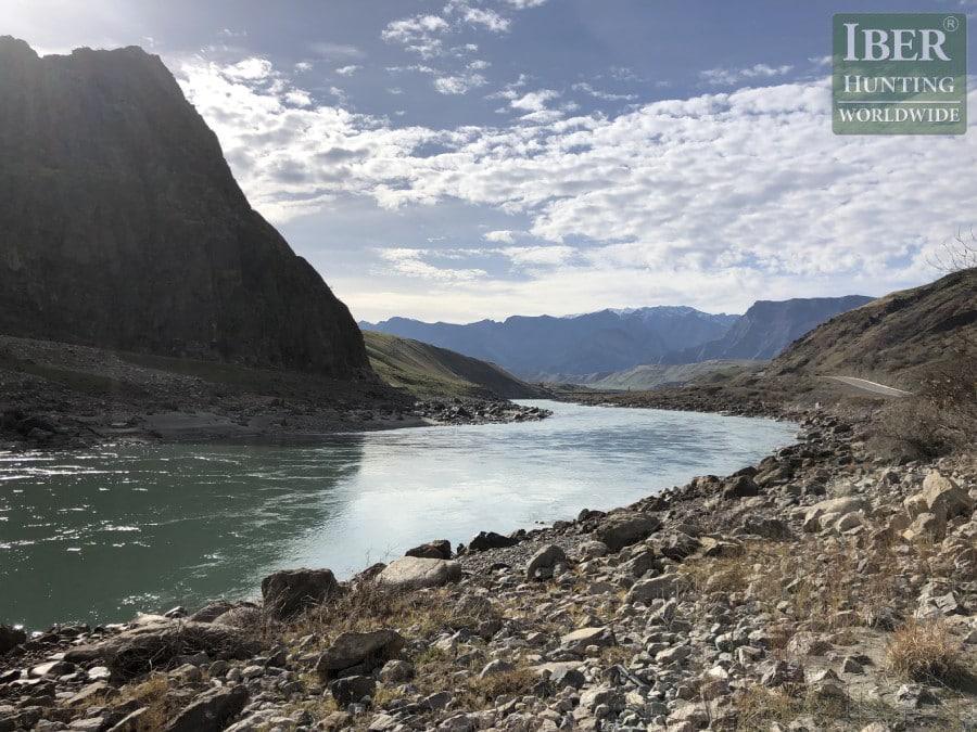 Hunt in Tajikistan - Landscape of Tajikistan