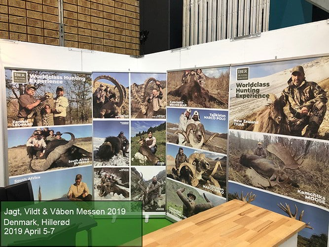 Jagt, Vildt & Vaben Messen 2019 - Hunting Fairs and conventions