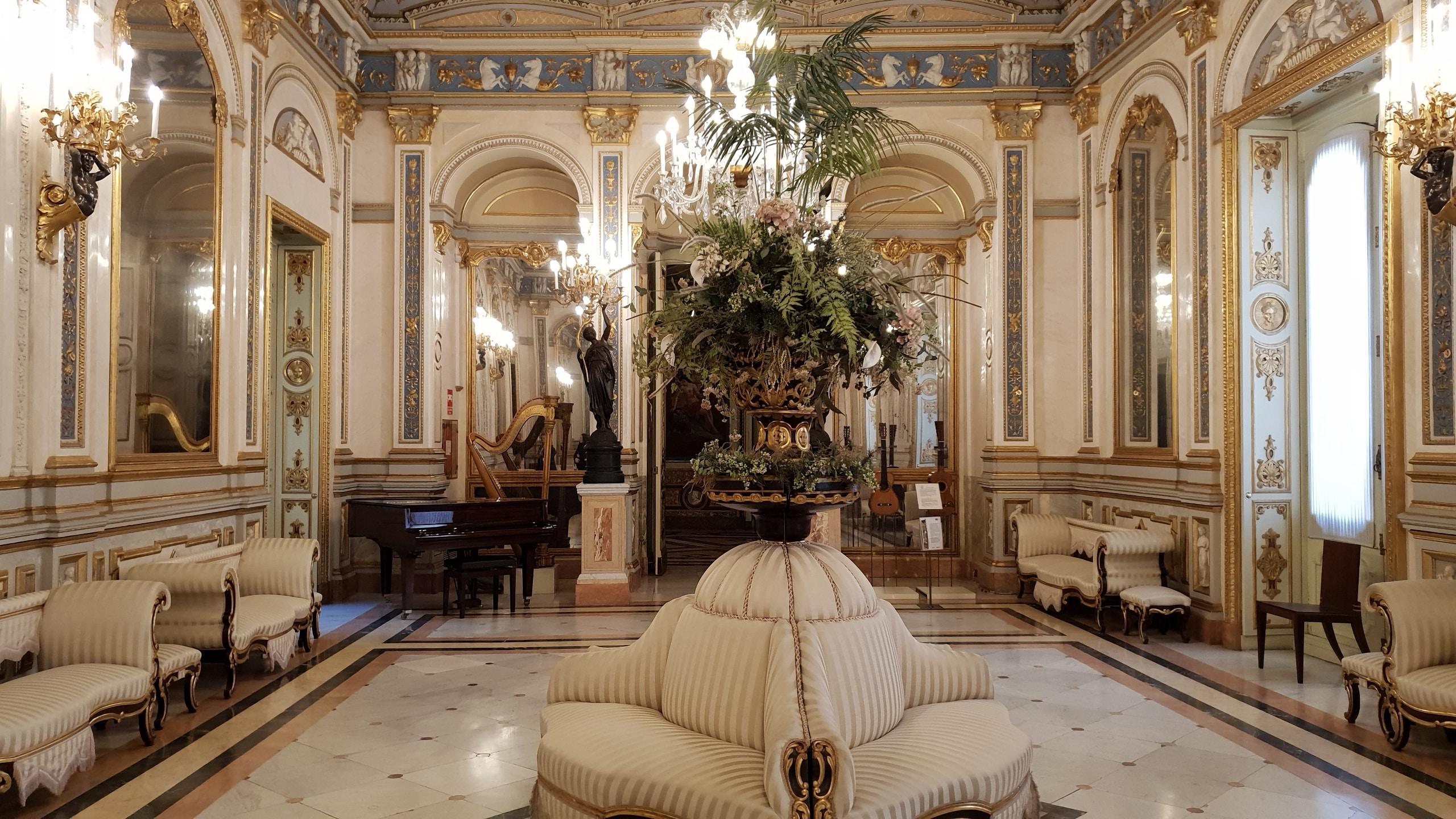 Inside palace of Marques de Dos Aguas