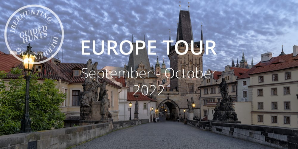 Europe Tour guided hunting trip 2022
