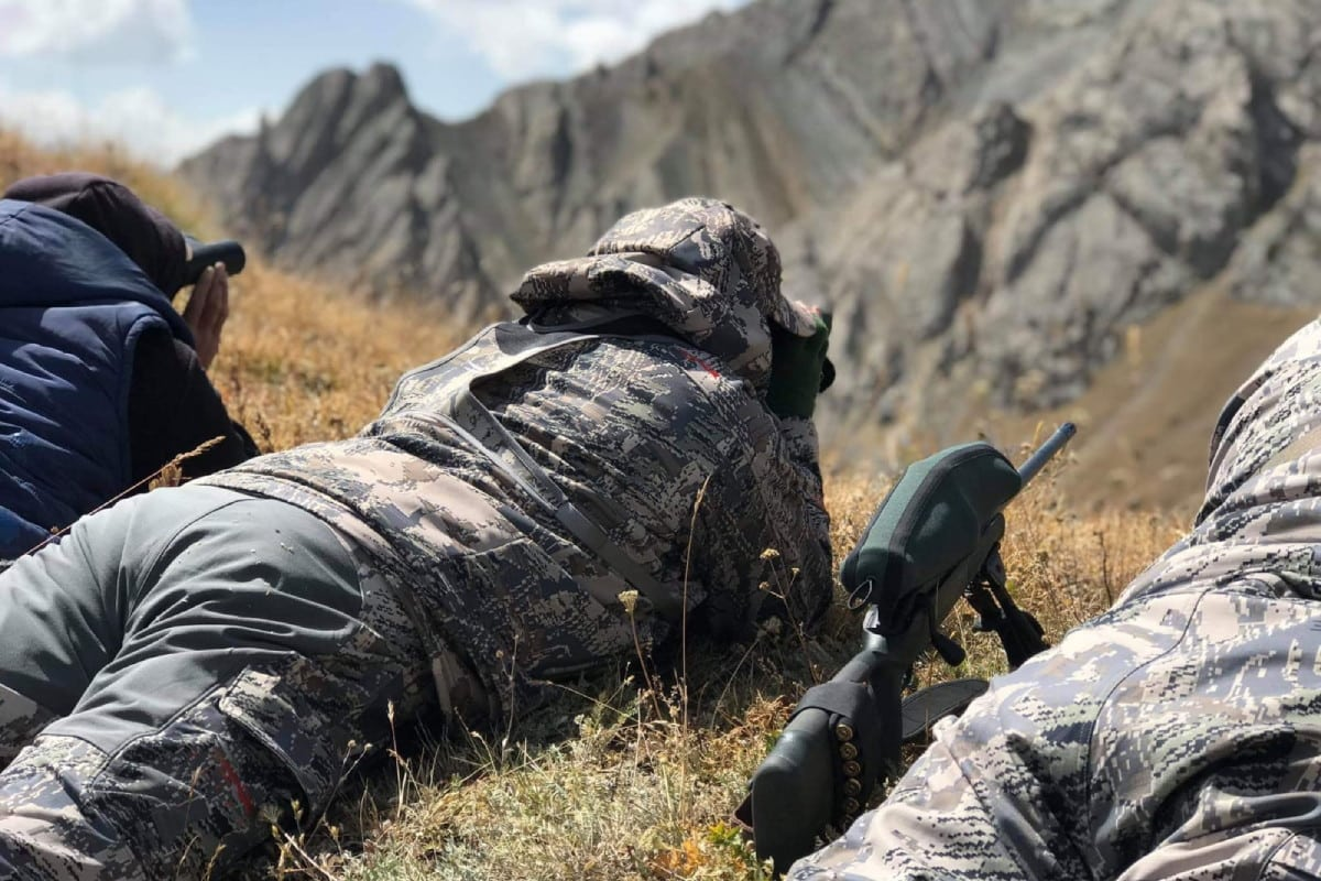 Hunt in Kyrgyzstan - Looking for Marco Polo