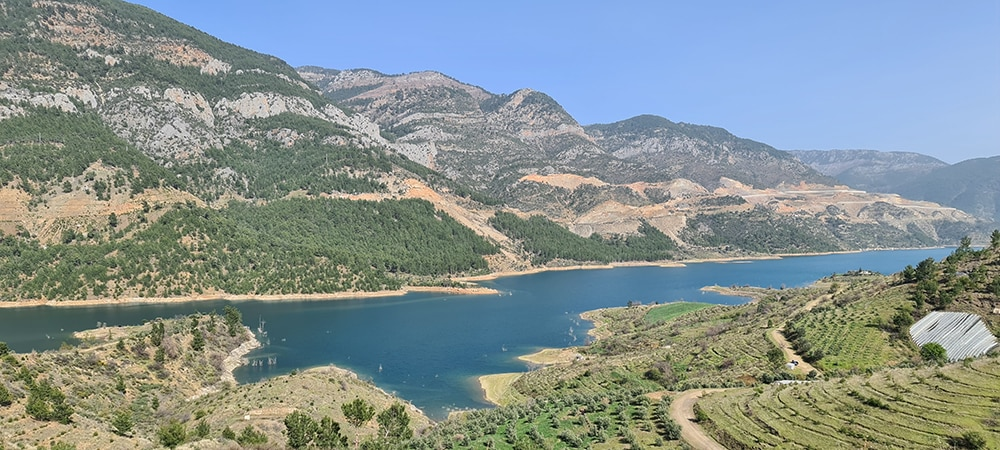Landscape of our hunting in Turkey for the Bezoar ibex