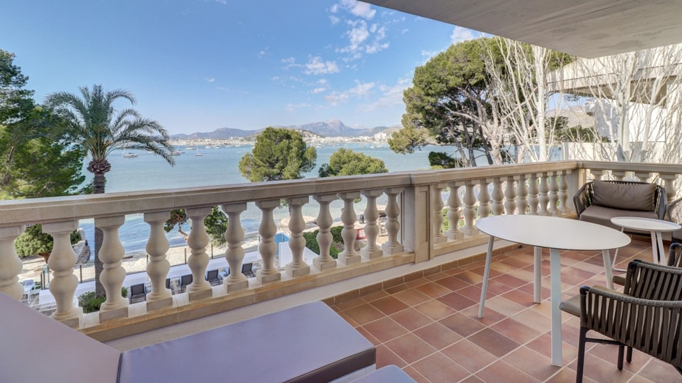 Balcony's view from your bedroom