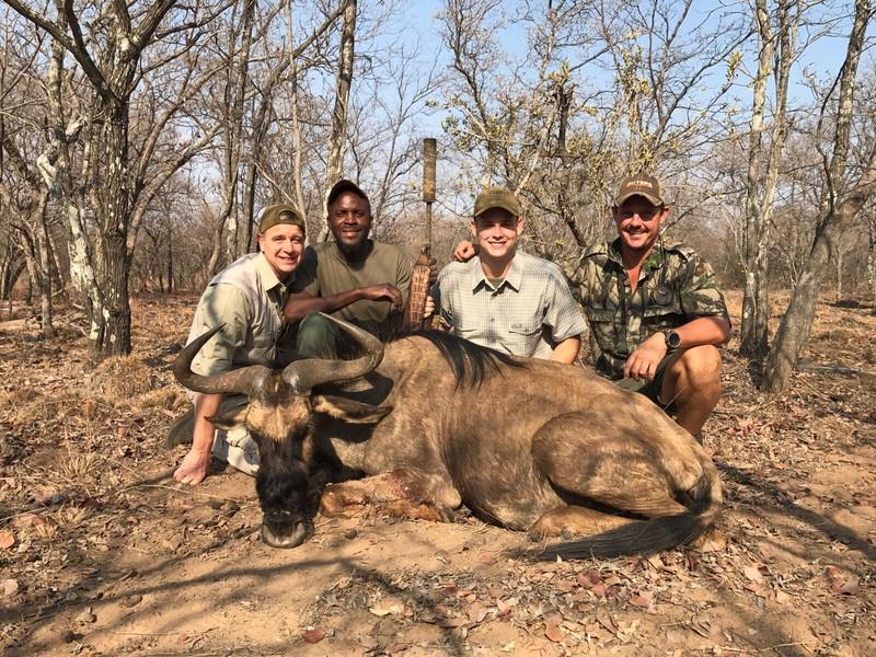 Family holidays hunting trip