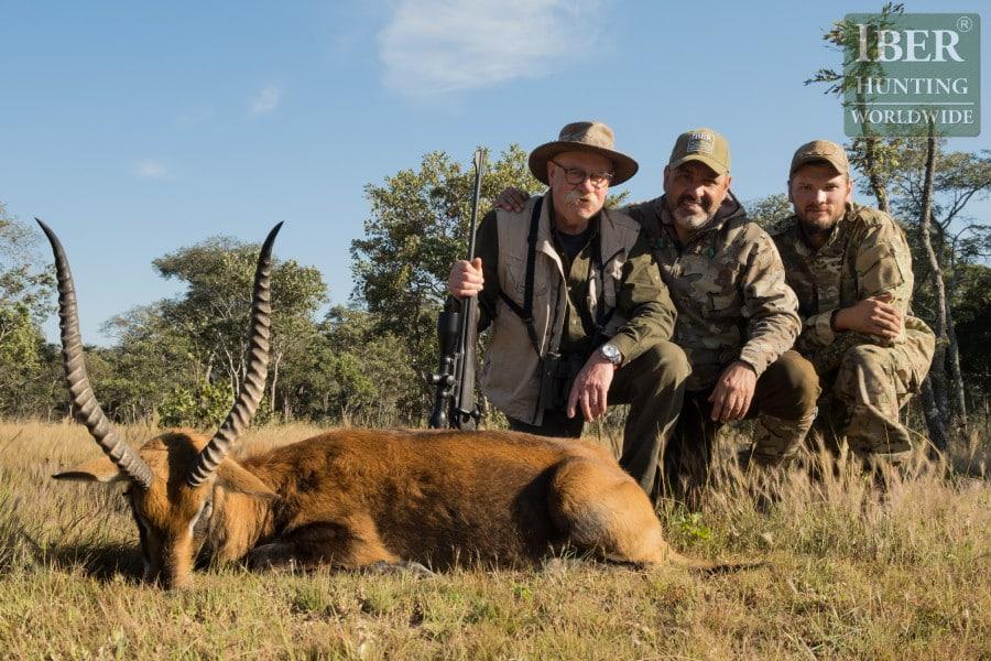 Last hunt of lechwe in Zambia