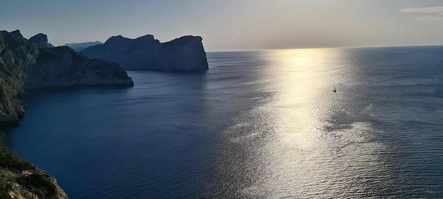 Mediterranean Sea view from Mallorca
