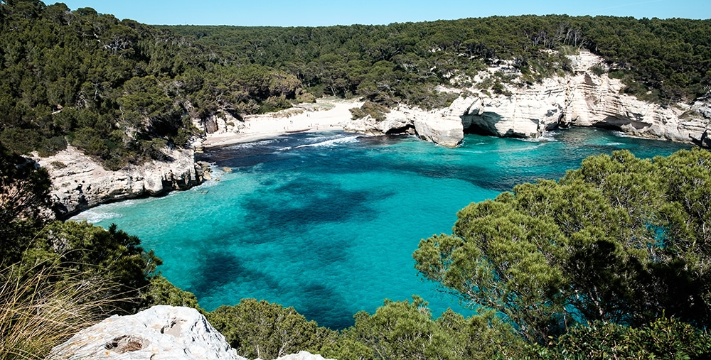 Beach in Mallorca where you can relax after yout hunt