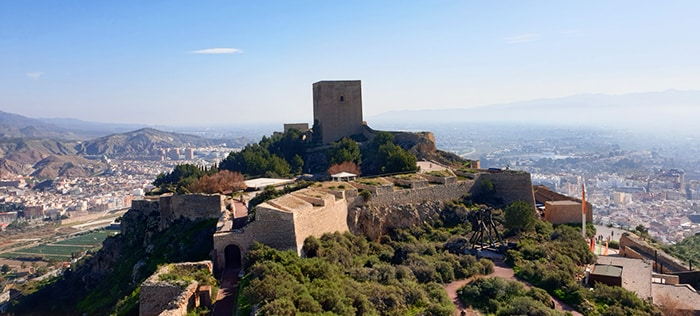 Castle of Lorca, a must to see in Lorca